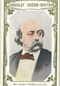 Flaubert, publicité de chocolat