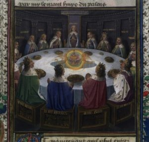 Enluminure du XVe siècle