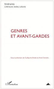 Genres et avant-gardes, 2015, couverture